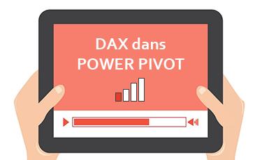 DAX dans Power Pivot